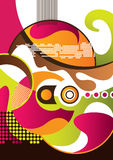 Modern abstract background vector illustration