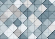 Modern Abstract background in blue tone. Template design for pre. Sentation, cover, brochure and web banner royalty free illustration