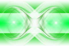 Modern abstract background of green Royalty Free Stock Images