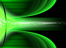 Modern abstract background. Green abstract background with energy flow royalty free illustration