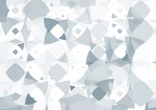 Modern abstract background in polygon shape. Template design in. Blue and white tone for business presentation, cover, brochure, packaging and web banner Royalty Free Illustration