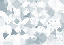 Modern abstract background in polygon shape. Template design in. Blue and white tone for business presentation, cover, brochure, packaging and web banner Stock Illustration