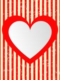 Modern abstract background red hearts. Valentines day.  Modern abstract background illustration with red hearts. Vector. EPS10 Stock Photos
