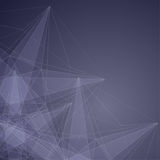 Modern  Abstract  Background with transparent Mesh and glowing l Royalty Free Stock Photo