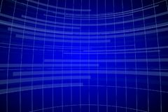 Abstract blue background with grid stock illustration