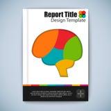 Modern abstract brochure vector design template Stock Photo