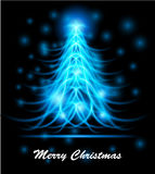Modern abstract christmas tree, eps 10 Stock Images