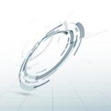 Modern abstract circle design element. Clip-art Stock Photo