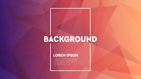 Modern abstract colorful geometric background. Shapes with trendy gradients. vector illustration