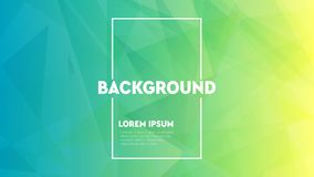 Modern abstract colorful geometric background. Shapes with trendy gradients. royalty free illustration