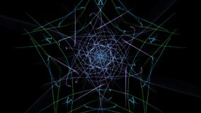 Modern abstract dark background. Silk symmetry series royalty free illustration