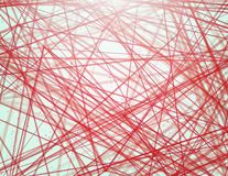 Colorful linear network Stock Photo