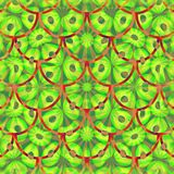 Modern abstract decorative tile in vivid psychedelic colors Royalty Free Stock Photo