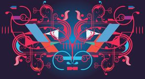 Modern abstract design Stock Photography