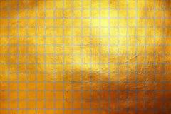 Modern abstract dynamisch gouden en zilveren textuurpatroon Stock Afbeeldingen