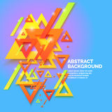 Modern abstract geometric background. vector illustration