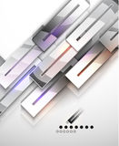 Modern abstract geometric  design template. EPS10  illustration Royalty Free Stock Photography