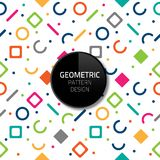Modern Abstract Geometric Pattern Template Vector Seamless Background Design Eps 10