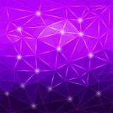 Modern abstract geometric purple background Royalty Free Stock Photos