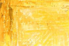 Modern abstract het schilderen binnenland met gesimuleerde teksten, patroon, Stock Foto