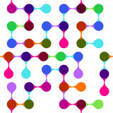 Modern Abstract Kleurrijk Naadloos Patroon Royalty-vrije Stock Foto's