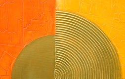 Modern abstract kunstwerk Stock Fotografie