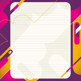 Modern abstract layout. vector illustration