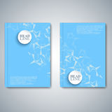 Modern abstract layout brochure, magazine, flyer Royalty Free Stock Photos