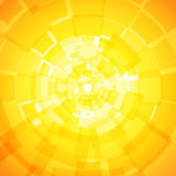 Modern abstract light yellow orange background Royalty Free Stock Image
