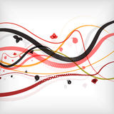 Modern abstract lines minimal background. This is file of EPS10 format stock illustration
