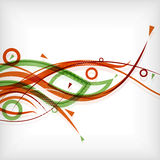 Modern abstract lines minimal background. This is file of EPS10 format vector illustration
