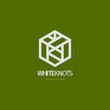 Modern abstract logo or element design. Best for identity and logotypes. Royalty Free Stock Photo