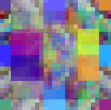 Modern abstract mosaic background Stock Photography