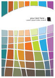 Modern abstract ontwerp Stock Afbeelding