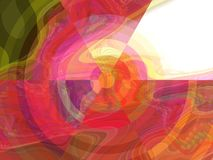 Modern Abstract Painting Royalty Free Stock Photos