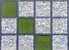 Modern abstract pattern of stone wall decorative surfaces stock photography