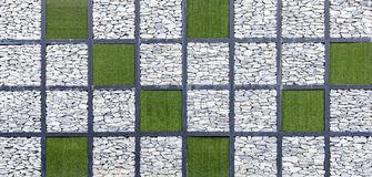 Modern abstract pattern of stone wall decorative surfaces Royalty Free Stock Images