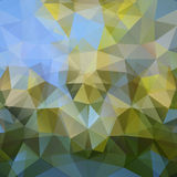 Modern abstract polygonal colorful background Royalty Free Stock Images