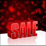 Modern abstract sale illustration Stock Photos