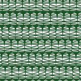 Modern abstract seamless vector pattern design. White half dome doodle shapes on a green background. Geometric abstract seamless stock illustration