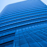 Modern abstract skyscraper office Royalty Free Stock Image