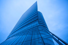Modern abstract skyscraper tower Royalty Free Stock Photography