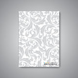 Modern abstract template layout for brochure Royalty Free Stock Photos