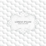 Modern abstract template upholstery background Royalty Free Stock Photography