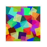 Abstract colorful modern background in geometric style . stock illustration