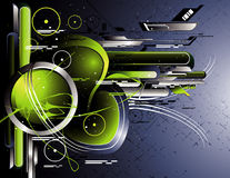 Modern abstract vector Royalty Free Stock Image