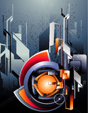 Modern abstract vector Stock Photography