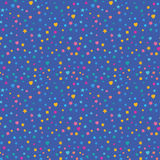 Modern Abstract Vector Confetti Background. Seamless colorful Royalty Free Stock Photos
