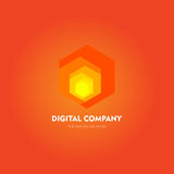 Modern abstract vector logo or element design. Best for identity and logotypes. Simple shape. Stock Photos