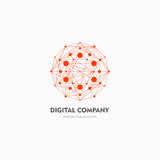 Modern abstract vector logo or element design. Best for identity and logotypes. Simple shape. A good solution for corporate identity company providing digital vector illustration